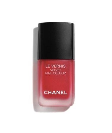 Chanel Red Velvet Nail Polish