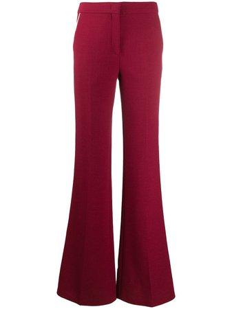 Emilio Pucci Trimmed Flared Trousers - Farfetch