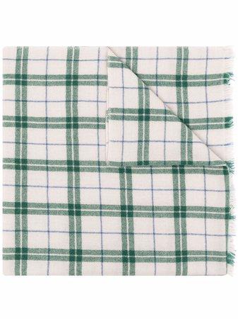 Isabel Marant plaid-check Print Scarf - Farfetch