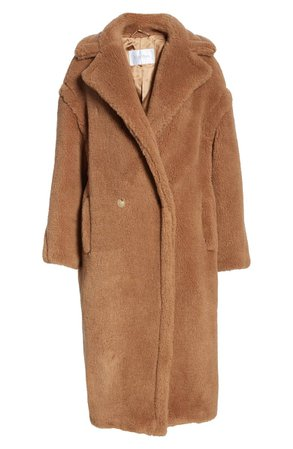 Max Mara Teddy Bear Icon Faux Fur Coat | Nordstrom