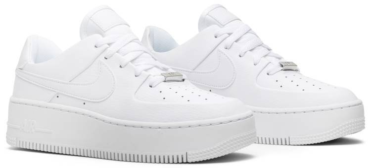 Wmns Air Force 1 Sage Low 'Triple White' - Nike - AR5339 100 | GOAT