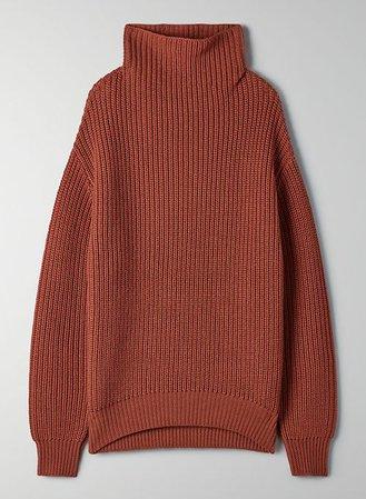 maroon sweater | Aritzia US