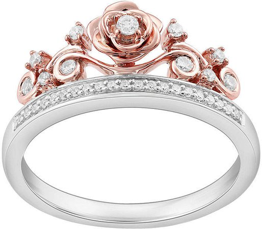 Womens Disney princess ring