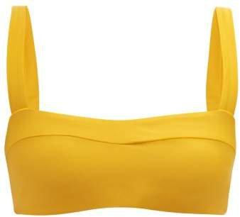 Coast Bikini Top - Womens - Yellow