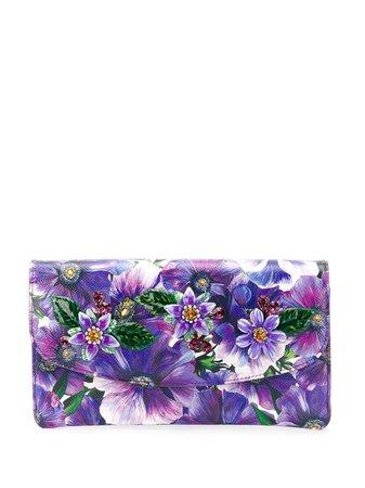 Dolce & Gabbana Dauphine Floral Print Clutch - Farfetch