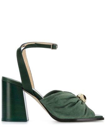 Jimmy Choo Jasie 85mm Sandals - Farfetch