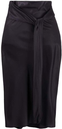 Romeo Gigli Pre Owned 1990s High-Waisted Skirt