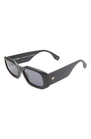 Le Specs Glass Half Full 54mm Rectangle Sunglasses | Nordstrom