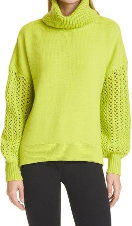 Adela Wool Blend Turtleneck Sweater