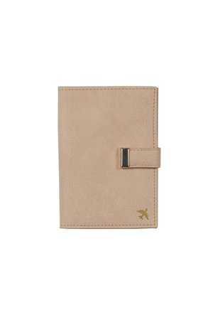 BEIS - The Passport & Luggage Tag Set in Beige