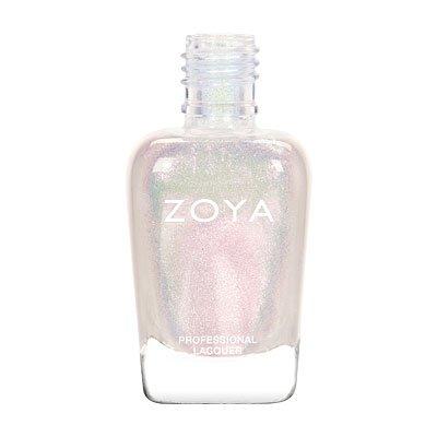 "Opal Iridescent White Nail Polish (Zoya) ""Leia"""