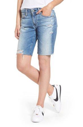 AG Nikki Cutoff Denim Shorts | Nordstrom