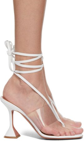 White Nappa Zula Sandals