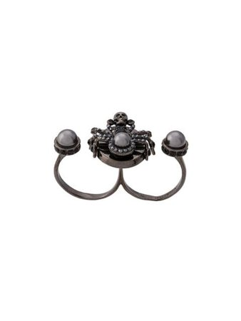 Alexander McQueen Double Spider Ring
