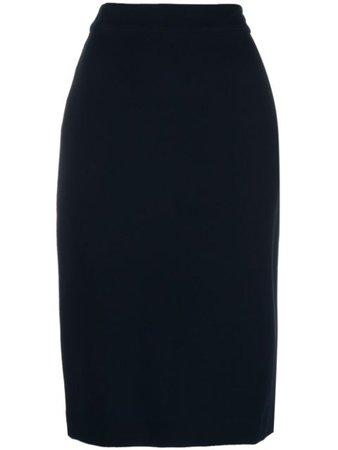 Blue Derek Lam Sora pencil skirt - Farfetch