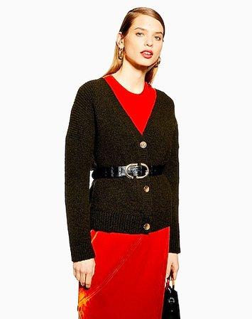 Ζακέτα Topshop Super Soft Button Cardigan - Γυναίκα - Ζακέτες Topshop στο YOOX - 14007446DJ