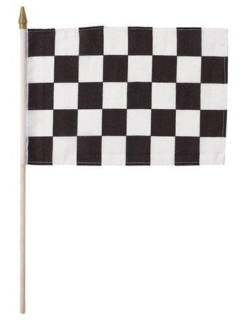 Black & White Checkered Flag