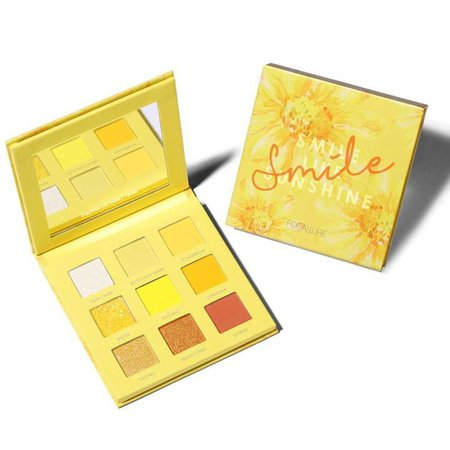 bright yellow eyeshadow palette - Google Search