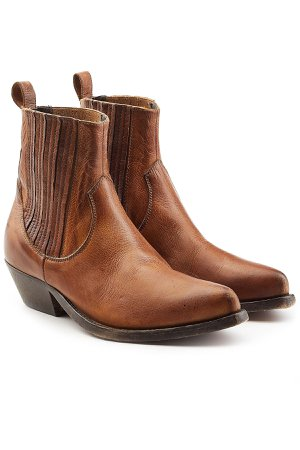 Leather Ankle Boots Gr. EU 36