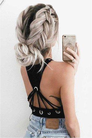Easy Cute Hairstyles 45 Easy Hairstyles for Spring Break Pinterest Model | Best Hairstyles Picture