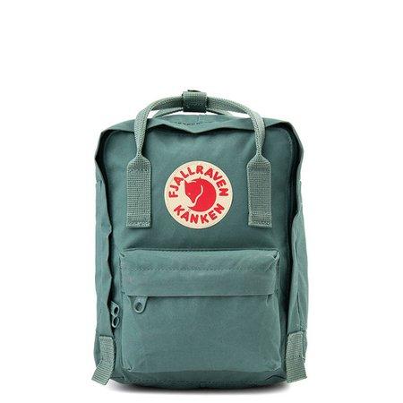 Fjallraven Kanken Mini Backpack - Frost Green | Journeys