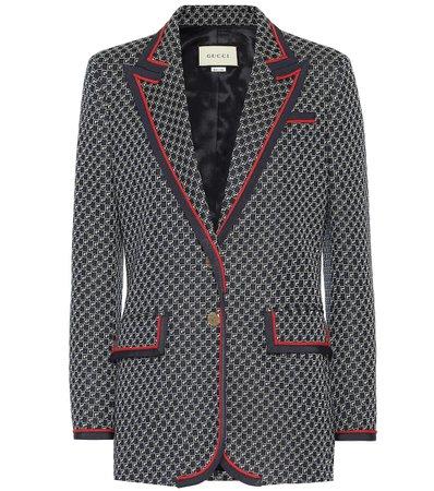 Blazer In Cotone - Gucci   Mytheresa