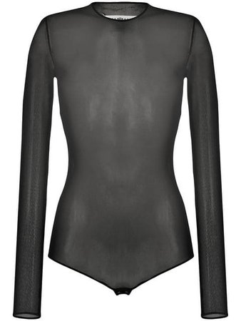 Maison Margiela sheer bodysuit $286 - Buy Online SS19 - Quick Shipping, Price