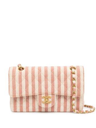 Chanel Pre-Owned 1995 Double Flap Shoulder Bag - Farfetch