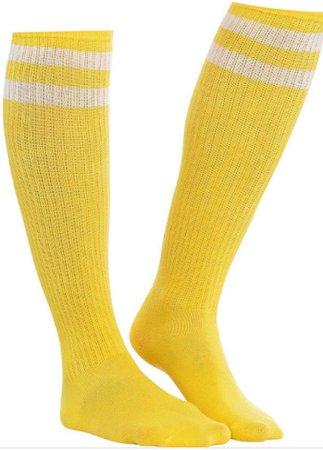 Yellow Knee High Socks
