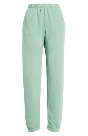 Entireworld French Terry Sweatpants (Women) (Nordstrom Exclusive) | Nordstrom