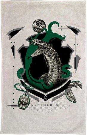 Collectables - Harry Potter - Slytherin Tea Towel - Buy Online Australia – Beserk