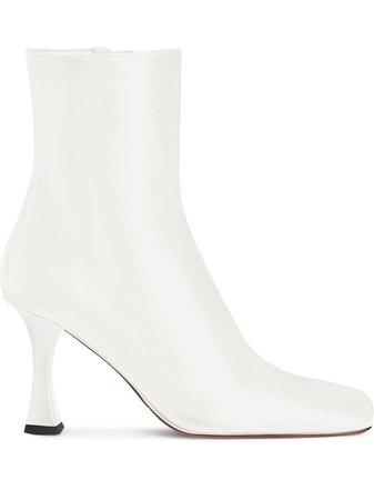 Proenza Schouler square-toe Ankle Boots - Farfetch