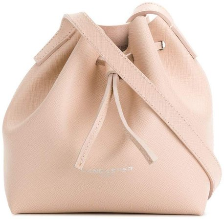 logo bucket shoulder bag