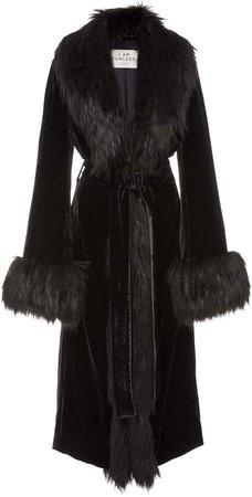 Marei 1998 Powderpuff Faux Fur Coat