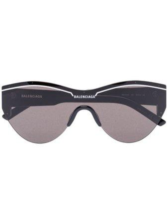 Balenciaga Eyewear Ski Cat Sunglasses - Farfetch