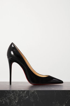 Christian Louboutin | Kate 100 patent-leather pumps | NET-A-PORTER.COM
