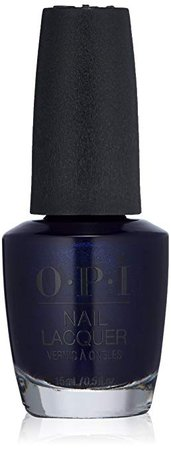 OPI Nail Lacquer Grease Collection, Dark Blue