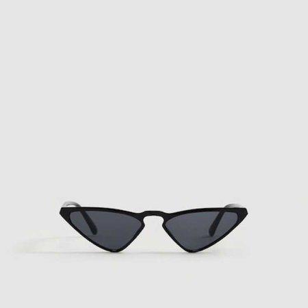 mango retro sunglasses