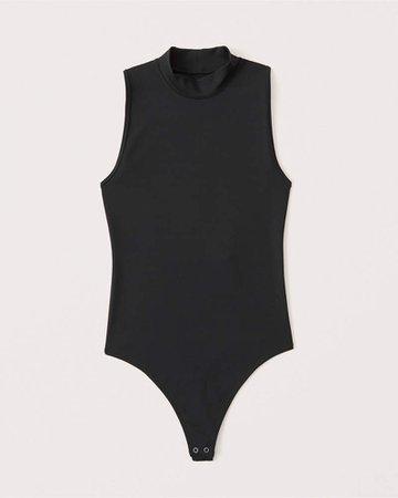Women's Seamless Mockneck Bodysuit | Women's New Arrivals | Abercrombie.com