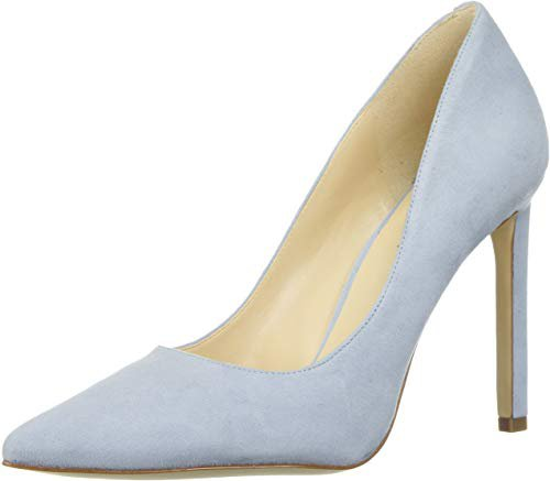 Amazon.com | NINE WEST Women's Tatiana Suede Dress Pump | Pumps