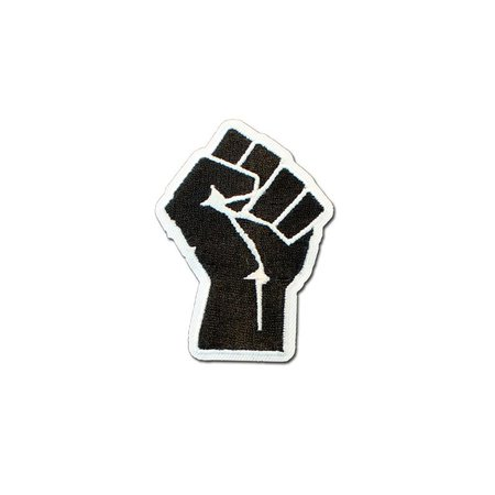 old school USA BLM Black Power Fist Symbol Embroidered Iron or Sew on Patch   Etsy
