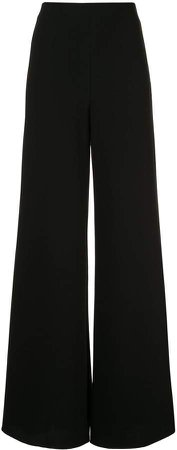 Irvine high-rise palazzo trousers