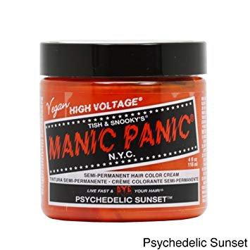 manic panic hair dye orange - Google Search