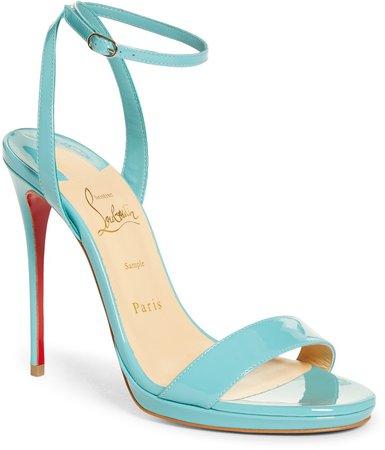 Loubi Queen Ankle Strap Sandal