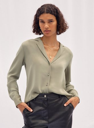 Wilfred LOUVRE BLOUSE | Aritzia US