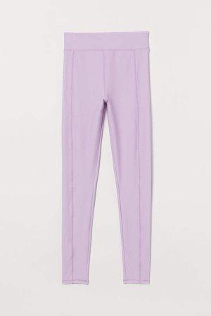 Leggings High Waist - Purple