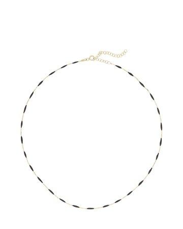 Argento Vivo | Enameled Station Chain Necklace | INTERMIX®