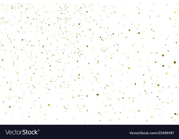Gold glitter texture Royalty Free Vector Image