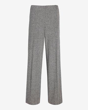 Mid Rise Herringbone Trouser Pant | Express