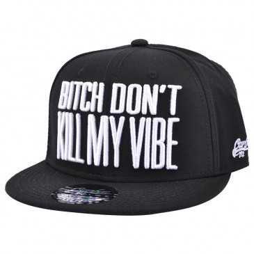 Carbon212 Bitch Don't Kill My Vibe Snapback Cap - Snapbacks - Snapback Caps - Men's Hats